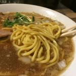 Gochoumeniboshi - 煮干しそば(太麺)@680円