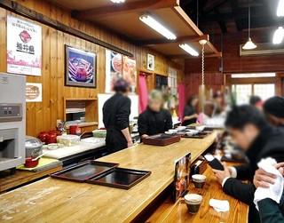 お食事処 田島 - カウンター席