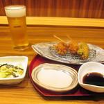 鎌倉かつ亭 あら珠 - choi呑みセット