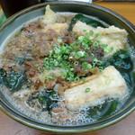 うどん屋まさ - 料理写真:「肉ごぼううどん」750円