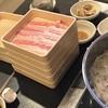 しゃぶ葉 - 料理写真:三元豚豚バラコース。1403円。一択!