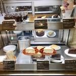 Cafe MUJI - デザートのショーケース