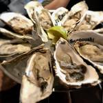 フィッシュハウス オイスターバー - 国産生牡蠣!(^^)!