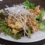 大阪王 京橋総本店 - やや甘い油淋鶏