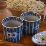 蕎麦 ふじおか - 蕎麦つゆ