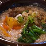 蕎麦 ふじおか - 蕎麦粥