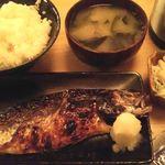 若大将 - 焼魚定食 600円