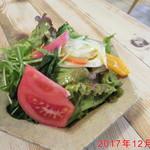 クワモンペ - グリーンサラダ