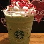 スターバックス・コーヒー - キャンディーピスタチオ フラペチーノ570円