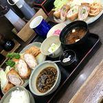 和風キッチン 蔵 - えび天巻とんかつ1250円+五目巻とんかつ単品1000円