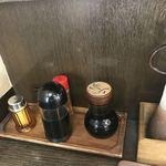 和風キッチン 蔵 - ソース、しょうゆ等