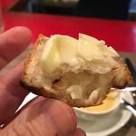 Kofuji Shokudou - もちろんバターを付けて食べようねー