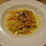 雨宮製麺所 - 「ベーコンとトマトパスタ」(850円)