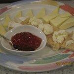 サロット - チーズ盛り