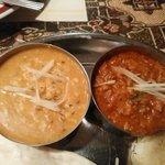 シャージ・パキスタンインドレストラン - ダールとキーマのアップ('-'*)♪