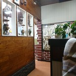 おぐら - 二階の個室調のテーブル席