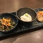 蕎麦和食はたり - 料理写真: