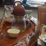 台湾茶 深泉 - お茶を入れる専用の台