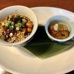中華香彩JASMINE - ふかひれ丼 前菜