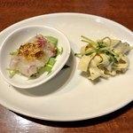 中華香彩JASMINE - 担々麺 前菜