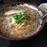 だるま亭 - 背脂味噌ラーメン