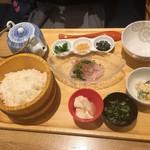 おぼん de ごはん - おぼんDEだし茶漬け(鯛)