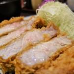 熟豚 - 料理写真:特上リブロースup