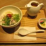 T'sたんたん - 白胡麻たんたん茶漬け 530円