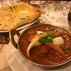 インドカレー 成増キッチン - 料理写真:マトンマサラ+ガーリックチーズナン