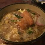 お食事処 徳之島 - 料理写真:たぬきそば 玉子とじ
