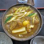 饂飩坊一休 - 料理写真:カレー煮込みうどん