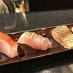 鮨知春 - 金目鯛、白甘鯛、かます