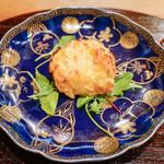 蓮香 - 上海蟹の甲羅焼き