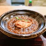 蓮香 - グツグツ干し鮑の土鍋蒸し