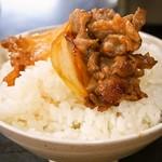 大昌園食堂 - バラ焼き オンザライス