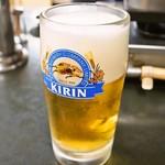 大昌園食堂 - 生ビール