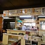 大昌園食堂 - 店内(昭和な雰囲気の店内)
