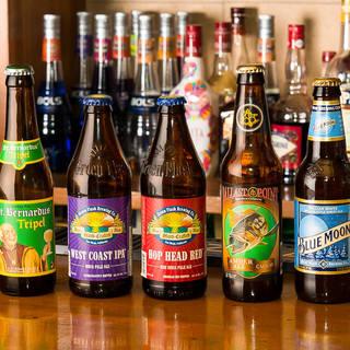 世界各地より取り寄せた海外ビール♪