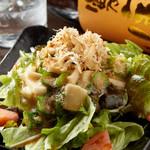 オクラと長芋のネバネバサラダ
