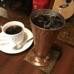 駅馬車 - アイスコーヒーいただきました。