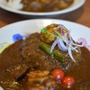 Karetokohikingu - 料理写真:カレー2種