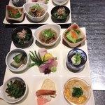ダイニング マツイ - 月替り膳 他茶碗蒸し、天ぷら、味噌汁、ご飯