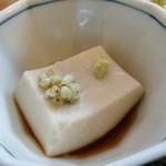 77477066 - 自家製胡麻豆腐