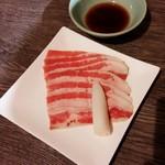 味覚館 - 牛シャブカルビ 420円+税