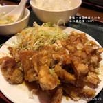 華味一番 - 油淋鶏定食 800円