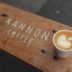 カンノン コーヒー - カフェラテ HOT☆