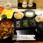 77480943 - うな丼定食 2480円