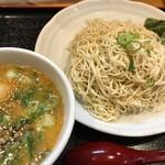 麺徳 - 柚子胡椒つけ麺