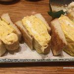 酒とひもの 人情酒場 - 玉子トースト