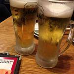 酒とひもの 人情酒場 - 遅めの乾杯